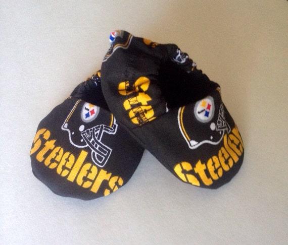 Pittsburgh Steelers baby booties