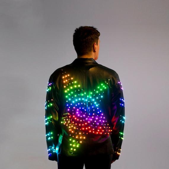 LED Light Up Stage Jacket Costume Clothing / Glow