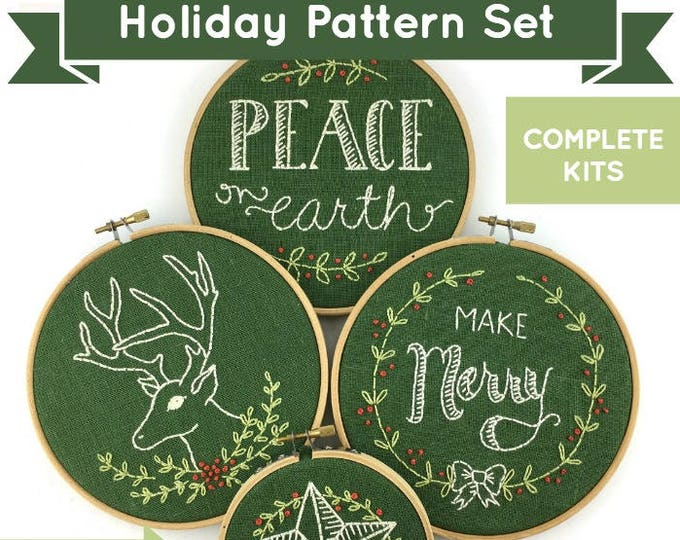 Christmas Embroidery Bundle