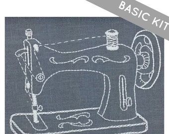 Sewing Machine Embroidery Kit {basic}
