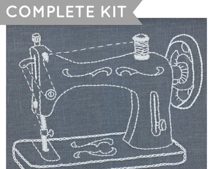 Sewing Machine Embroidery Kit