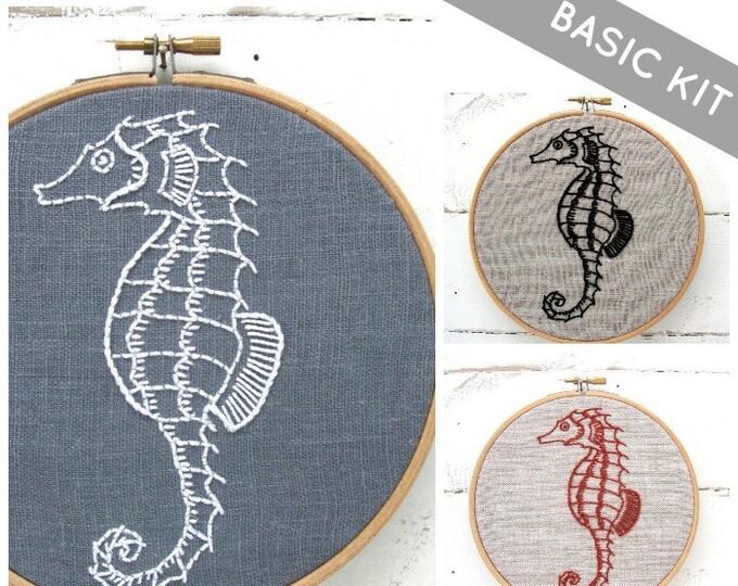 Seahorse Embroidery Kit {basic}