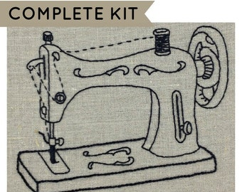 Embroidery Kit: Sewing Machine