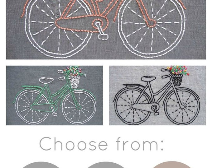 Bicycle Embroidery Kit