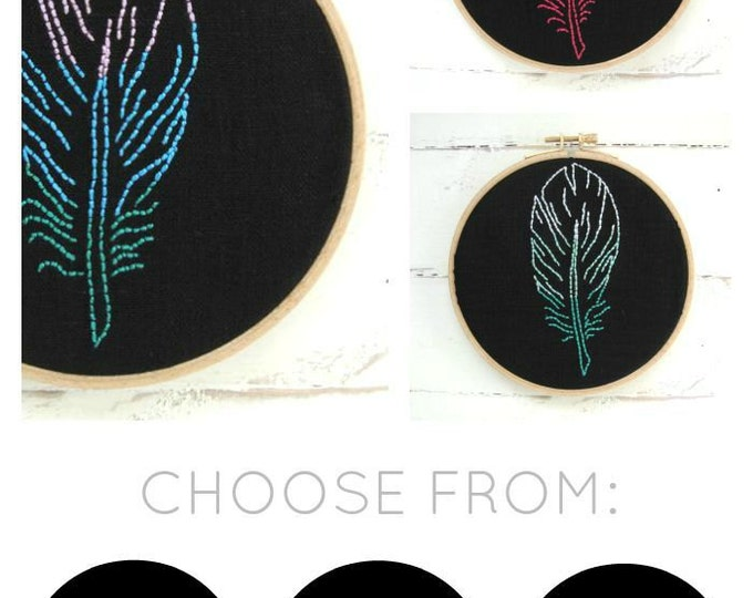 Feather Embroidery Kit