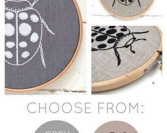 Ladybug Embroidery Kit