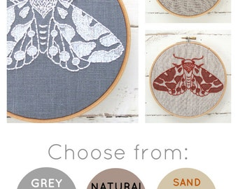 Moth Embroidery Kit {basic}