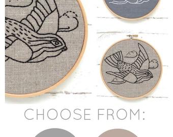 Bird Embroidery Kit
