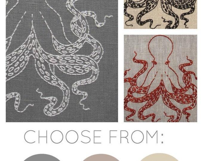 Octopus Embroidery Kit {basic}