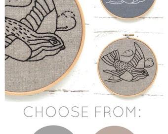 Bird Embroidery Kit {basic}