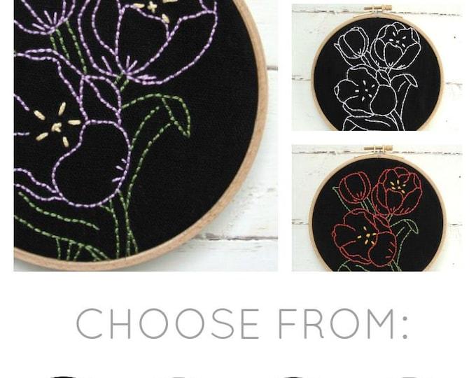 Tulips Embroidery Kit (basic)