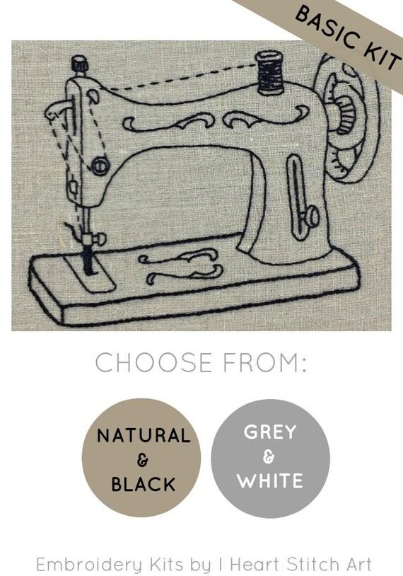 Stickerei Nähmaschine Vintage Stickpackung moderne | Etsy