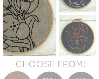 Tulips Embroidery Kit {basic}