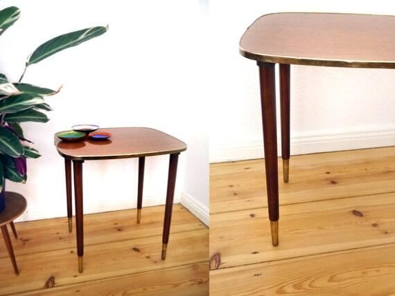 50er Jahre Tisch Vintage Möbel Schreibtisch Mid Century Etsy