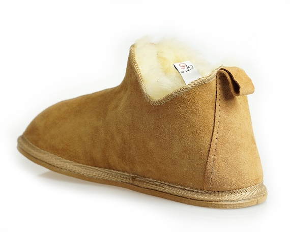 Very Natural boots and Women Genuine shoes SALE comfy Good Leather Slippers light gift wool ON 8S4qpn