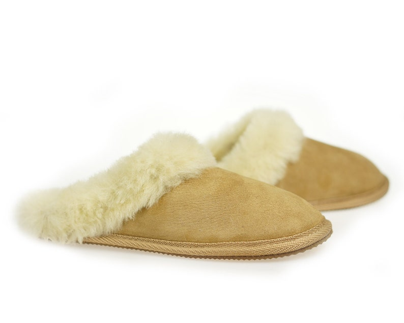 458886f784 Womens Sheepskin Shearling Slippers Boots for Women House