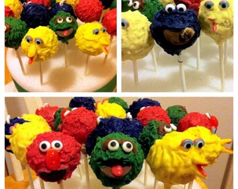 Sesame Street Cakepops