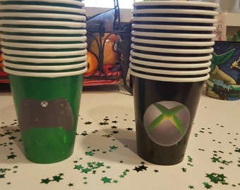 XBOX party cups