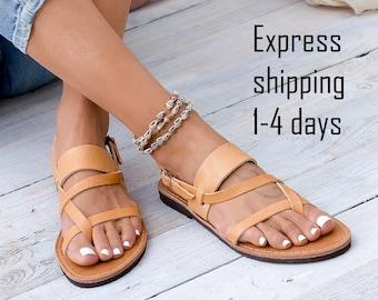 f7a7e8ca5cff0d ACROPOLIS Leather sandals