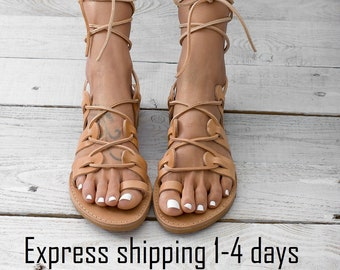 34d94651d1e3c ATHENA Leather sandals