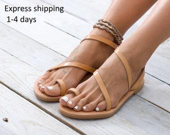f7f45a45c3e Leather sandals