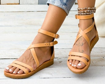 6f0d1a12a CHIOS leather sandals