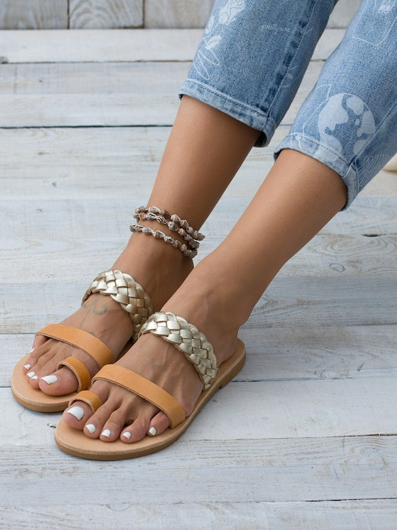 Leather Sandals Women, Women's sandals, Greek sandals, Sandals made in Greece, Handmade leather sandals,