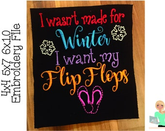 82813b8ac4e30 Flip flop saying