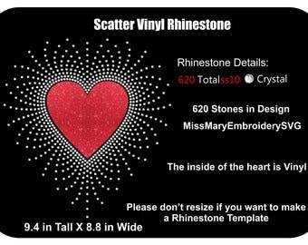 Rhinestone Templates Etsy