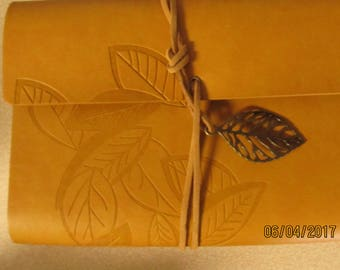 Brown Leaf Journal Book of Shadows