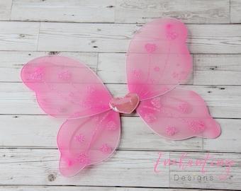 Fairy Wings, White Fairy Wings, Pink Fairy Wings, Girl's Fairy Wings, Kids Fairy Wings, Toddler Fairy Wings, Kids Wings, Adult Wings
