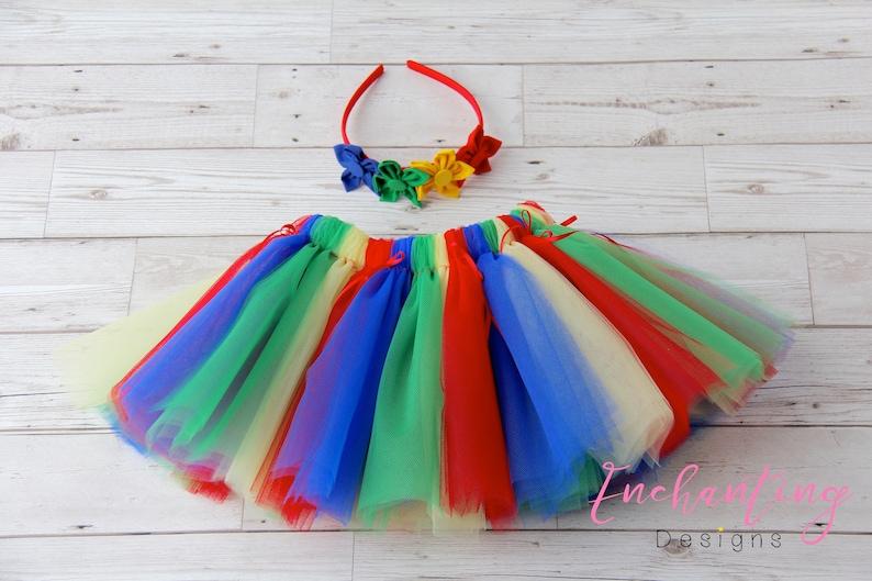 c38d1d9b0 Rainbow Tutu Girl's Rainbow Tutu Toddler Rainbow Tutu | Etsy
