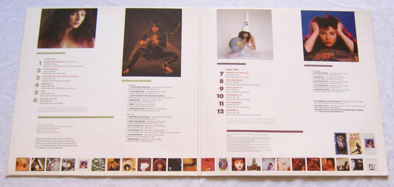 Kate Bush The Whole Story LP vinyl record album 1986 original release in  gatefold sleeve greatest hits best of compilation gift music fan