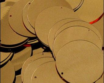 Sequin discs 24mm Gold. Pack of 250. JR02838