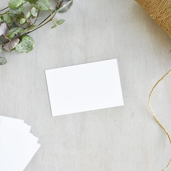 Blank white business cards blank business cards uk size reheart Gallery