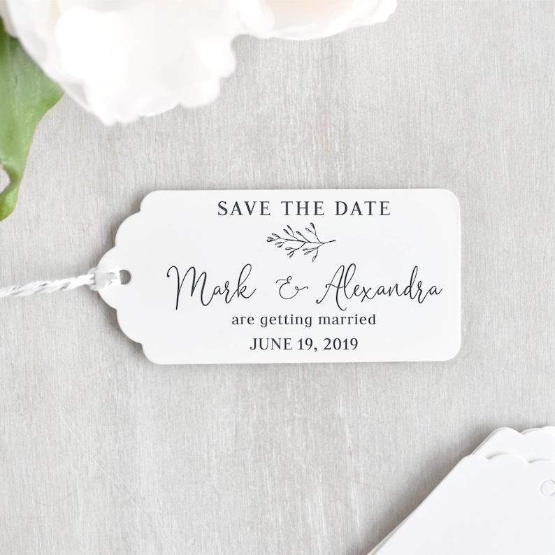 Save the Date Stempel Hochzeit