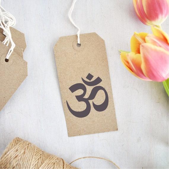 Aum Stamp Om Symbol Aum Symbol Hindu Symbol Religious Etsy