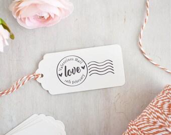 Valentines Mail Stamp | Love Stamp - Postmark Stamp - Valentines Mail - Valentines Stamp - Happy Valentine's Day