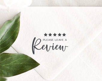 Please Leave A Review Stamp