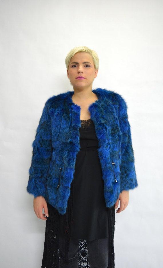 jacket blue coat fur fur real jacket jacket fur Real coat Fur genuine fur dyed coat shawl Collarless fur fur fox fur fox stole fox new xfwvzYRq