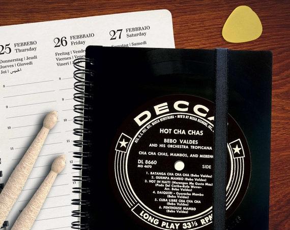 Din A5 Planer  2021 aus einer Schallplatte | Wochenplaner | Taschenkalender