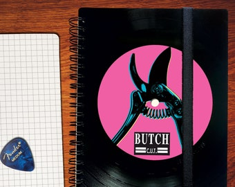 Vinyl notebook made for BUTCH C.U.T.
