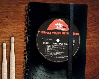 A5 Diary 2022 made from Vinyl | Gift for Music Lover