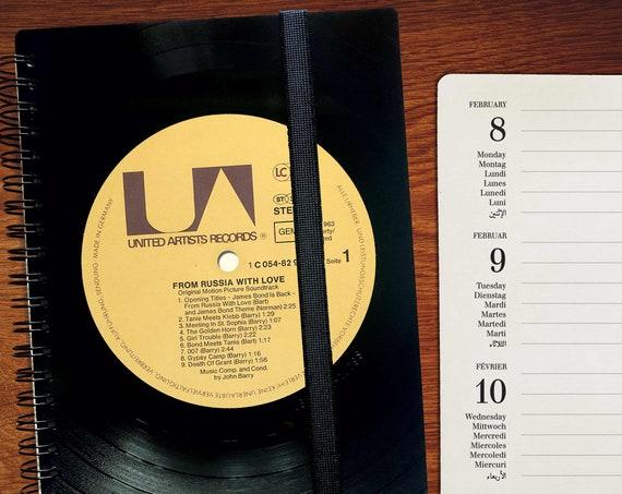 Din A5 Kalender 2021 aus Vinyl | Wochenplaner | Taschenkalender