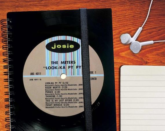 Notizbuch liniert aus Schallplatte | Tagebuch | Notizheft | Vinyl | kariert | Musikheft | blanko | Notenheft | Phonoboy