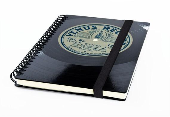 Recyling Notizbuch aus Schallplatte | Phonoboy