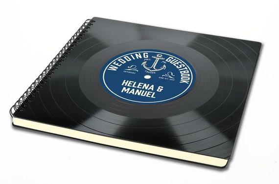 Fotoalbum aus einer Schallplatte - Geschenk für Musiker | Musikliebhaber | Künstler | retro | Phonoboy