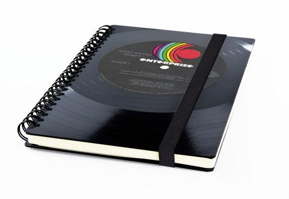 Taschenkalender 2020 aus einer Schallplatte | Recycling Notizbuch | Musik Geschenk | Vintage | Kalender | Planer