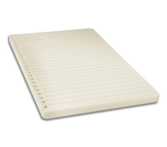 Liniertes Papier zum Nachfüllen für Notizbuch| Phonoboy