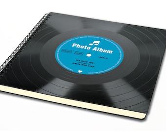 Personalized Wedding Album | Vinyl Photo Album | Wedding Guestbook | Unique Guest Book | Personalized Wedding Gift | Photo Album